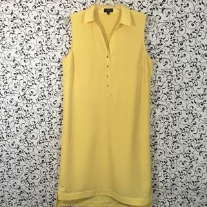 The Limited Yellow Ashton High/Low Dress